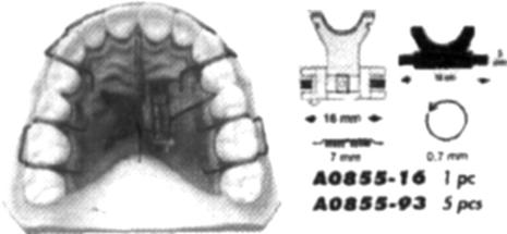 Ортодонтические аппараты механического действия